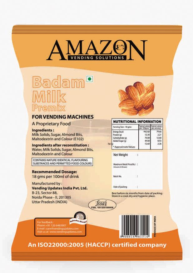 Amazon Instant Badam Milk Premix