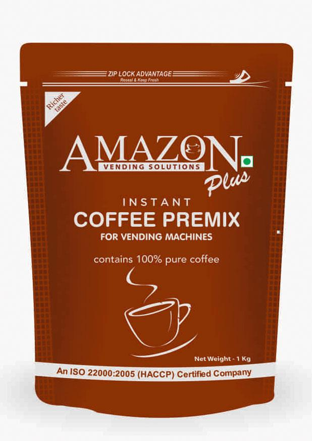 Amazon Plus Instant Coffee Premix
