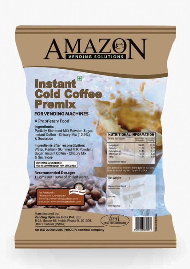 Amazon Instant Cold Coffee Premix