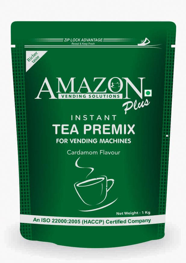 Amazon Plus Instant Tea Premix Cardamom Flavour