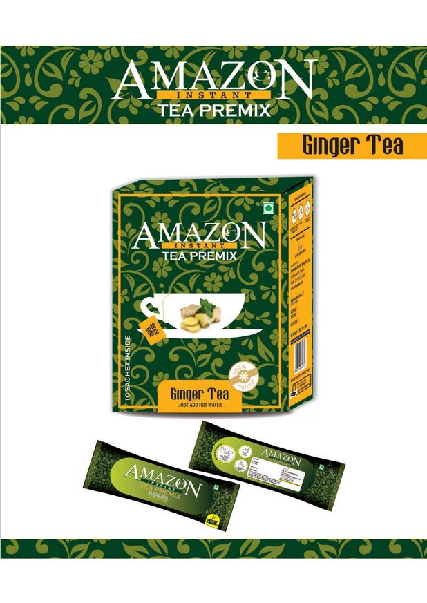 Amazon Instant Tea Premix Ginger Flavour