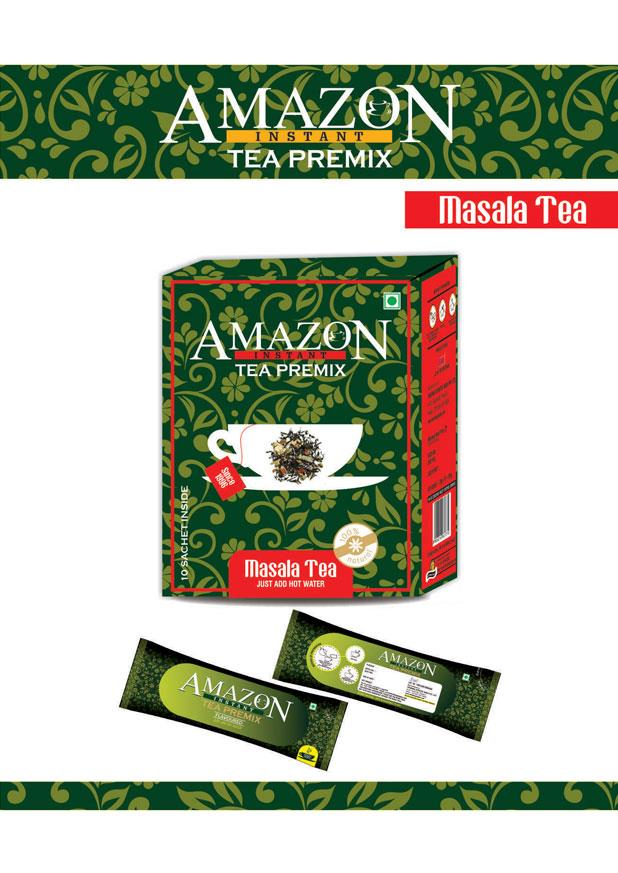 Amazon Plus Instant Tea Premix Masala Flavour